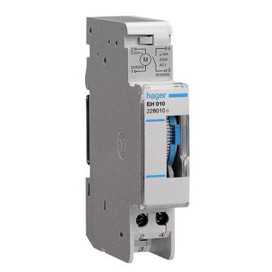 Hager EH011 Kopplingsur analogt dygnsur, 230V