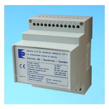 Extronic EX-11 Styrenhet 12 V, 50 mA/90 mA, max 5 A/relä