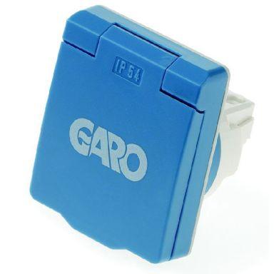 Garo UIF 10/16 Vägguttag 10/16A, IP54