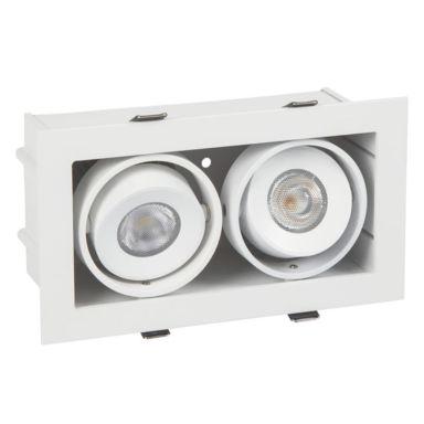 Hide-a-Lite Bright Eye G2 Box II Downlight 2 x 6,8 W, hvit