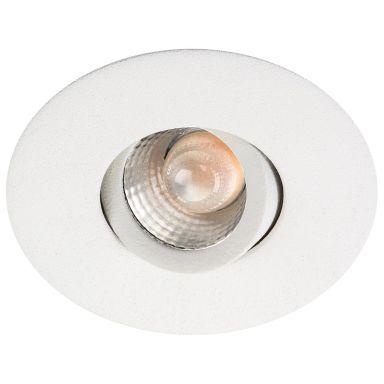 SG Armaturen Nano Downlight-valaisin 4 W, keskileveä valokeila, valkoinen