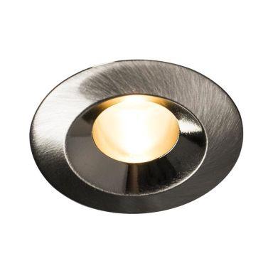 Hide-a-Lite Core Smart Downlight 15°, børstet stål