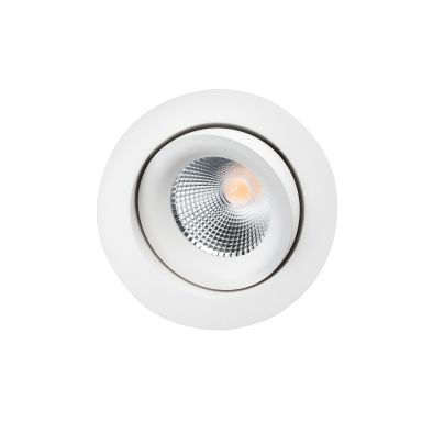 SG Armaturen Junistar Lux Isosafe Downlight 7 W, vit