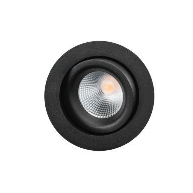 SG Armaturen Junistar Lux Isosafe Downlight 7 W, svart