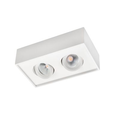 SG Armaturen Cube Lux Downlight 2x7 W, 1080 lm