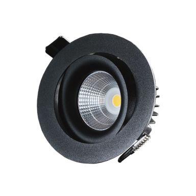 Designlight P-1602527B Downlight 7W, svart