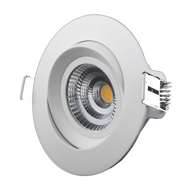 Designlight M-Penny Downlight 7 W, vinklingsbar, 6-pack
