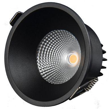 Designlight P-196B Downlight 11W, svart