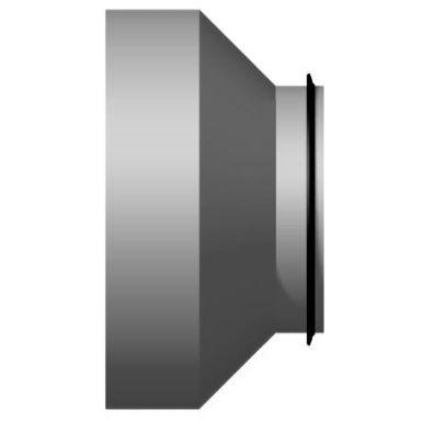 FläktGroup BDED-1-010-006 Reducering koncentrisk, muff