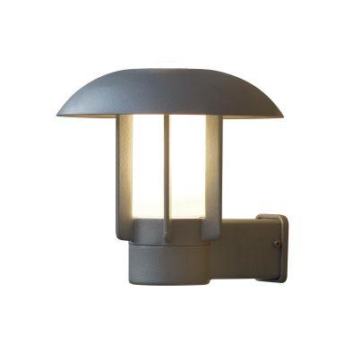Konstsmide Heimdal Väggarmatur E27-sockel, aluminium
