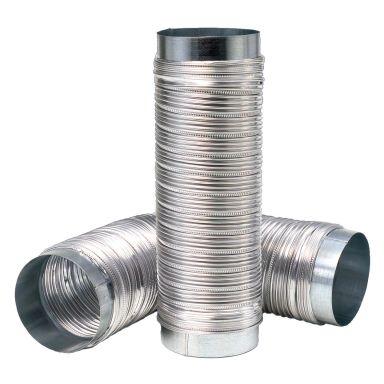 REC Indovent Drasut 100 Metallslang utdragbar 1 m