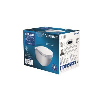 Duravit STARCK 3 WC-skål med mjukstängande sits