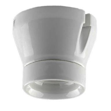 Steinel 5270900010 Fotlampeholder EW27, hvit, 100 W