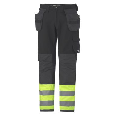 Helly Hansen Workwear Visby Arbetsbyxa varsel, gul/svart