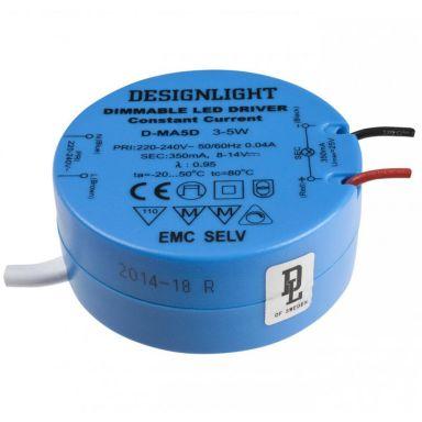 Designlight D-MA5D Drivdon 3-5 W, IP21