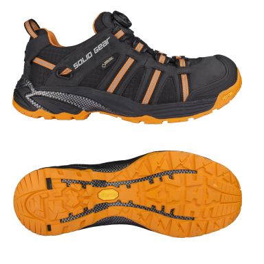 Solid Gear Hydra Skyddssko GTX, svart/orange, glasfiberhätta