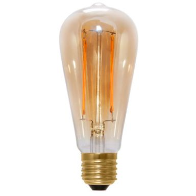 Narva Edison LED-valo savunvärinen, 6 W, 2200 K