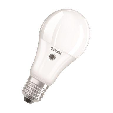 Osram PARATHOM SENSOR CLASSIC A LED-lampa matt, 9W, 240°, 2700K, 806 lm