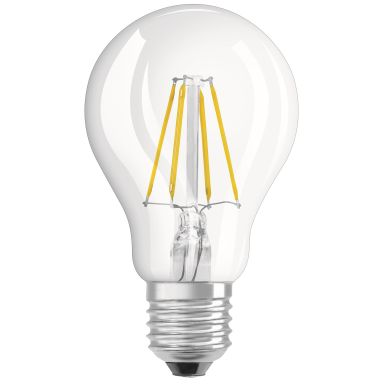 Osram PARATHOM Retrofit CLASSIC A 40 LED-lampa klar, 4W, E27, 2700K