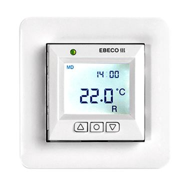 Ebeco EB-Therm 355 Golvvärmetermostat med LCD-display, 230VAC
