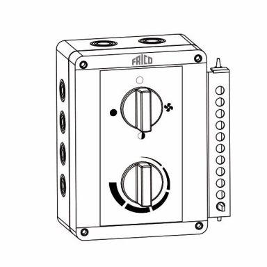 Frico ELSRT4 Betjeningspanel IP65
