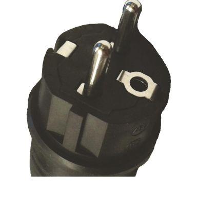 ABL 2403219 Stickpropp gummi, jordad, brytskydd, IP44