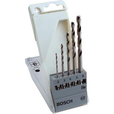 Bosch 2608595517 Metalliporanteräsarja kuusiokanta