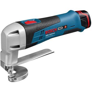 Bosch GSC 12V-13 Plåtsax med batterier och laddare