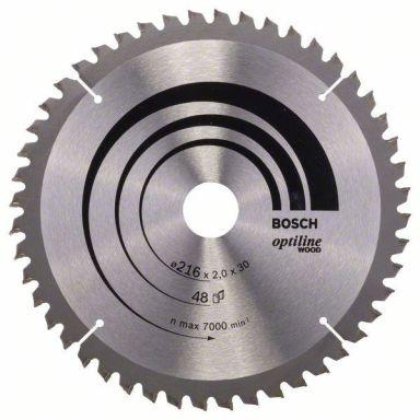 Bosch 2608640433 Optiline Wood Sahanterä 60T