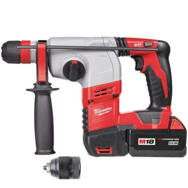 Milwaukee HD18 HX-402C Borhammer med batterier og lader