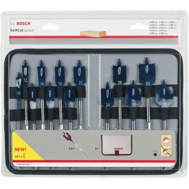Bosch Self Cut Speed 2608587010 Senterborsett 13 deler