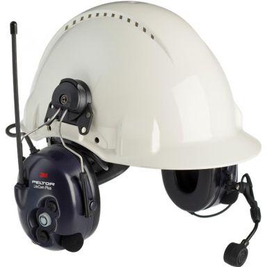3M Peltor LiteCom Plus Hörselskydd med komradio, hjälmfäste