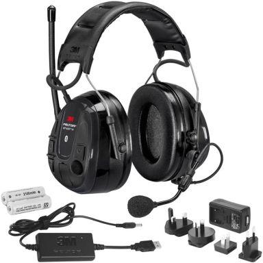3M Peltor WS Alert XP Hørselsvern Bluetooth med issebøyle  ladepakke