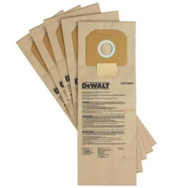 Dewalt DWV9401 Dammsugarpåse 5-pack