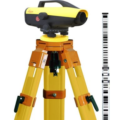 Leica Sprinter 150M Digitalavvägare Startklart paket