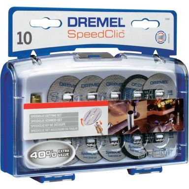Dremel EZ SpeedClic SC690 Tilbehørssett for kapping 11 deler