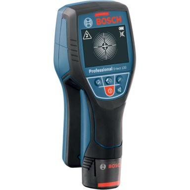 Bosch Wallscanner D-tect 120 Regelsökare med batterier och laddare