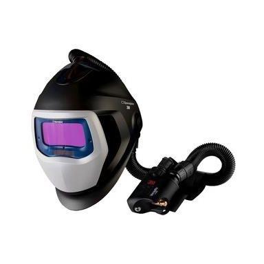 3M Speedglas Black 9100X Svetshjälm med andningsskydd