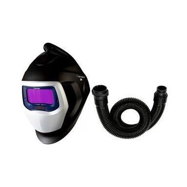 3M Speedglas Black 9100X Sveisehjelm med luftkanal