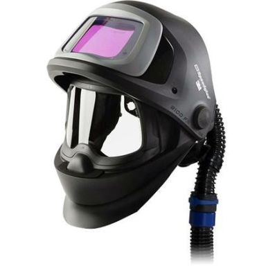 3M Speedglas Black 9100FX Sveisehjelm med luftkanal