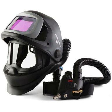 3M Speedglas Black 9100FX Hitsauskypärä sis. hengityssuojaimen