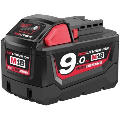 Milwaukee M18 B9 18V Li-Ion batteri 9,0Ah
