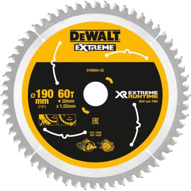 Dewalt DT99564 Sagklinge 60T