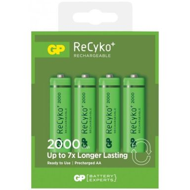 GP Batteries GP ReCyko R6/AA Laddbara batterier 4-pack