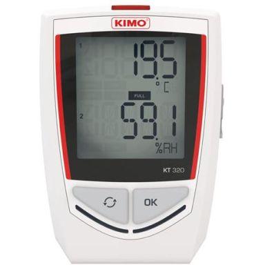 Kimo KT320 Lämpötilaloggeri