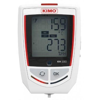 Kimo KH220 Lämpötila-/kosteusloggeri