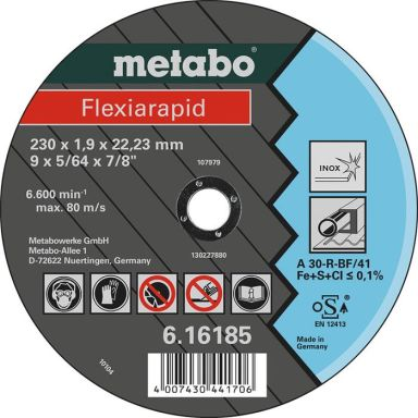 Metabo 616184000 Kapskiva