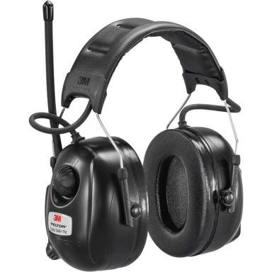 3M Peltor DAB+ FM Radio Hörselskydd med hjässbygel