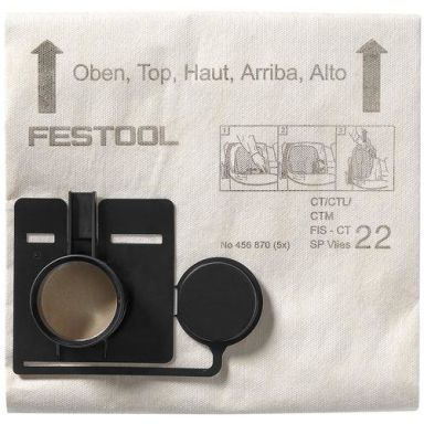 Festool FIS-CT 22 SP VLIES Filtersäck 5-pack