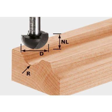 Festool HW S12 D40/25/R20 Kourujyrsinterä kara 12 mm